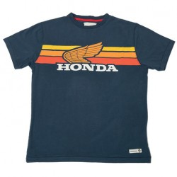 08HOV-T18-3X : Honda Sunset Navy T-shirt CB650