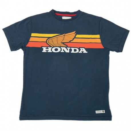 08HOV-T18-3X : Honda Sunset Navy T-shirt CB650 CBR650
