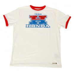 T-shirt Team Honda Blanc