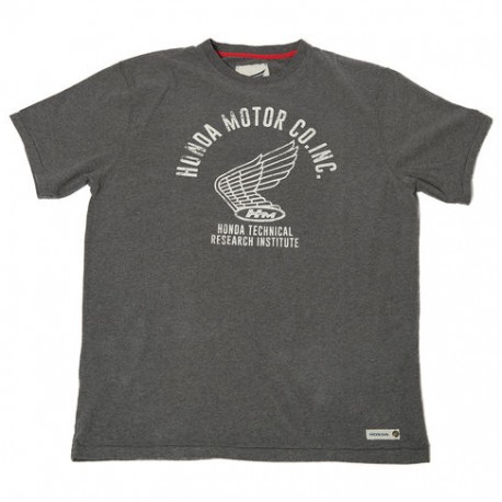 08HOV-T18-5X : Honda Technical Grey T-shirt CB650 CBR650