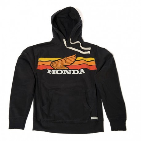 08HOV-H18-2X : Sweat Honda Sunset Noir CB650 CBR650
