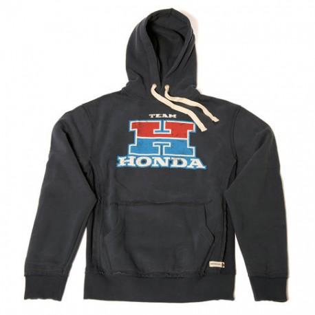 08HOV-H18-3X : Honda Team Grey Hoodie CB650 CBR650