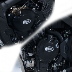 61000042 + 61000043 : R&G engine case cover CB650 CBR650