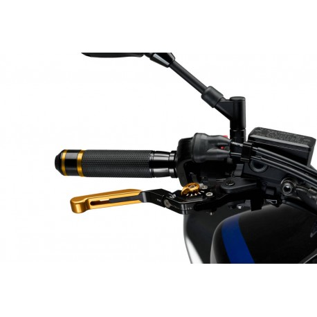 5446N + 9744N + lev : Puig foldable extendable levers V3 CB650 CBR650