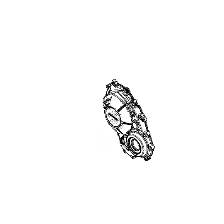 11330-MJE-DB0 : Honda right engine casing CB650 CBR650