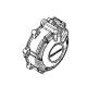 11321-MJE-D00 : Carter moteur gauche Honda CB650 CBR650