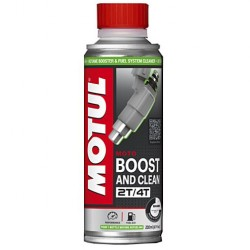 Motul Boost and clean performance