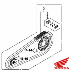 Honda OEM Chain kit
