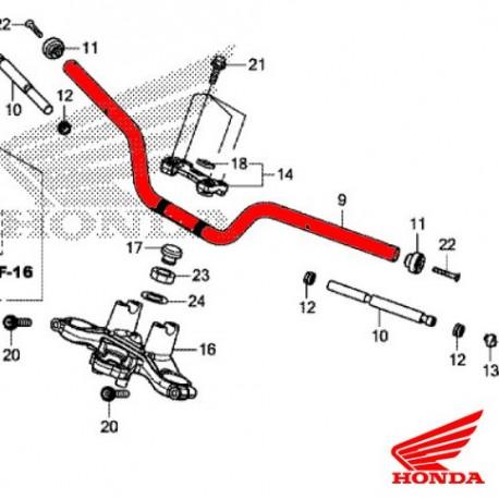 53100-MJE-D40 : Honda OEM handlebar CB650