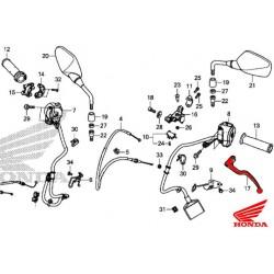 53178-MJE-D00 : Levier d'embrayage d'origine Honda CB650