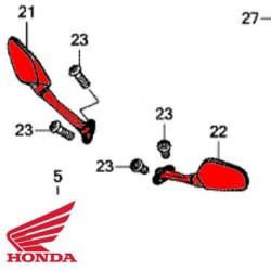 Rétroviseur droit d'origine Honda