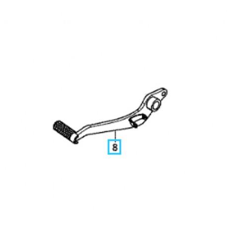 46500-MJE-D00 : Honda Brake Pedal CB650 CBR650