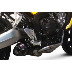 H131090CV : Cabron Exhaust Line Termignoni CB650 CBR650