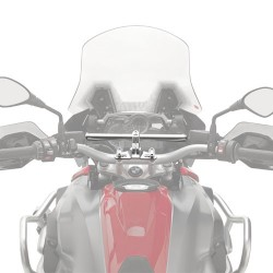 02SKIT + S900A : Smart bar Givi CB650
