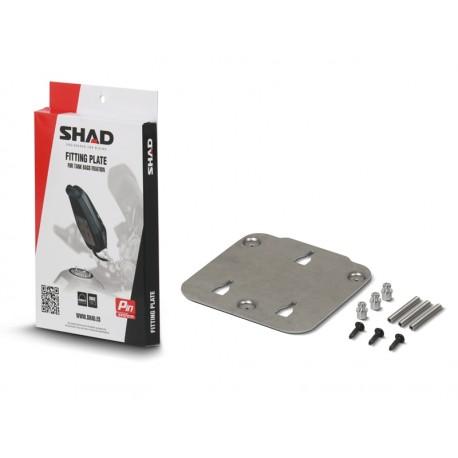 X010PS : Support sacoche de réservoir Shad CB650