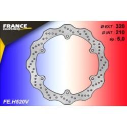 Front brake disk