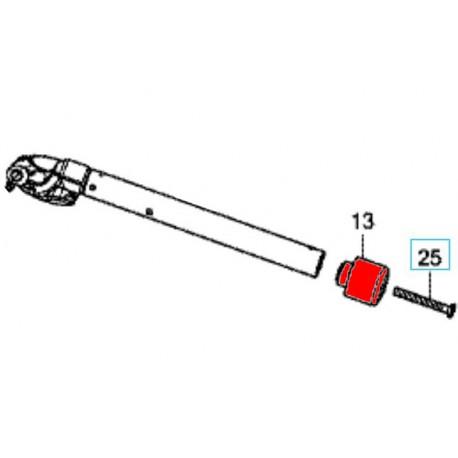 53104-MGZ-J00 + 90191-KYJ-900 : Honda OEM handlebar cap CB650