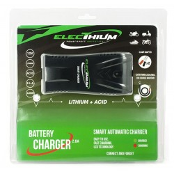 ACCUB03 : Universal battery charger special Lithium CB650