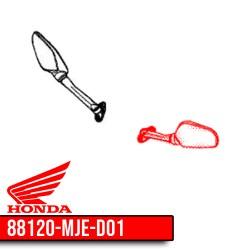 88120-MJE-D01 : Rétroviseur gauche d'origine CBR650R CB650 CBR650