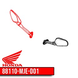 Honda CBR650R right mirror