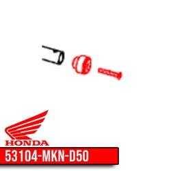 53104-MKN-D50 + 90122-MKN-D50 : Honda CB650R handlebar cap CB650