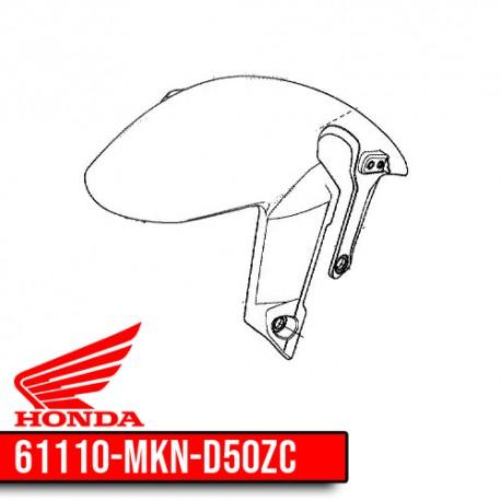 61110-MKN-D50ZC : Honda CB650R front fender CB650 CBR650