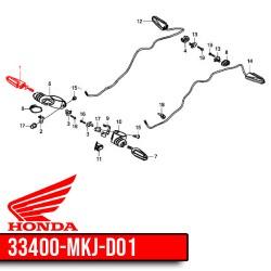 33400-MKJ-D01 : Honda OEM turn signal CB650R CB650