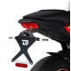 HCF6104 : Support de plaque Barracuda CB650 CBR650