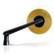 SKIN-S + N-ADATT10 : Barracuda Skin-S round mirrors CB650 CBR650